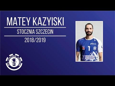 Matey Kazyiski in Plusliga 2018/19