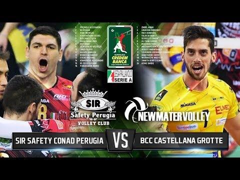 Sir Safety Perugia - Castellana Grotte (Highlights)