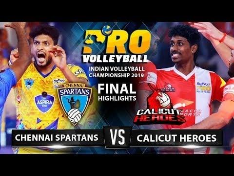 Chennai Spartans - Calicut (First Indian League Final)