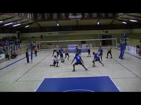 Club Pacense Voleibol - CD Cisneros Alter (full match)