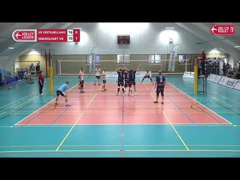 Oskar Madsen in match VK Vestsjælland - Middelfart