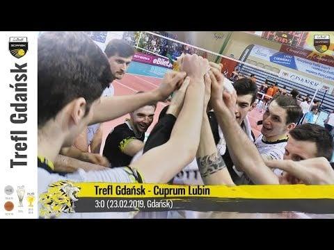 Trefl Gdańsk actions vs Cuprum Lubin