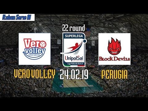 Vero Volley Monza -  Sir Safety Perugia (full match)
