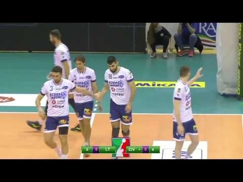 Top Volley Latina - Lube Volley (short cut)