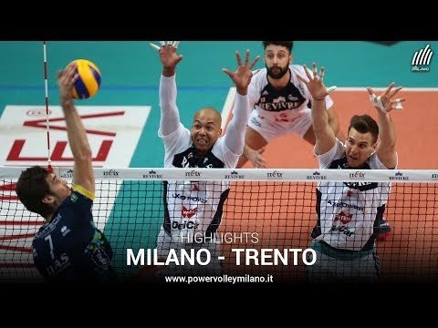 Power Volley Milano - Trentino Volley (short cut)