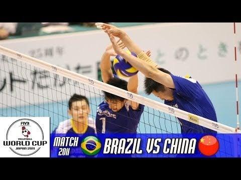 China - Brazil (full match)
