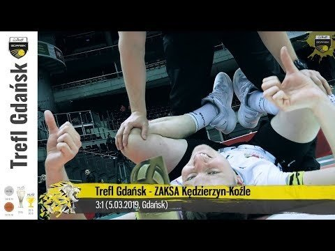 Trefl Gdańsk - Kędzierzyn-Koźle (Highlights)
