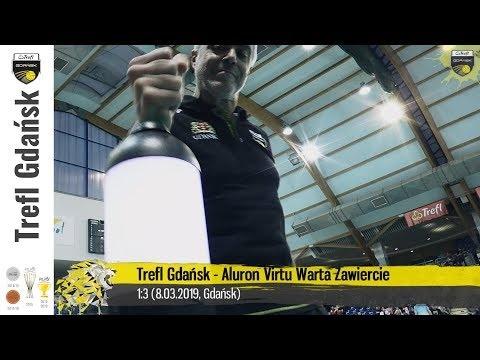 Trefl Gdańsk - Warta Zawiercie (Highlights)