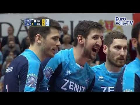 Best actions (SET5): Trefl Gdańsk - Zenit Kazan
