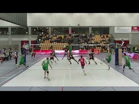 Fredric Gustavsson in match Lindemans - Galati