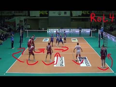 Volleyball Explained: Setter in Rotation 4