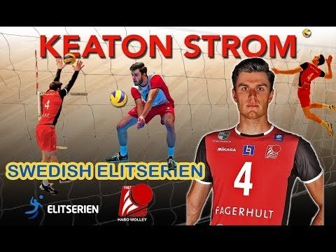 Keaton Strom in Swedish League 2018/19