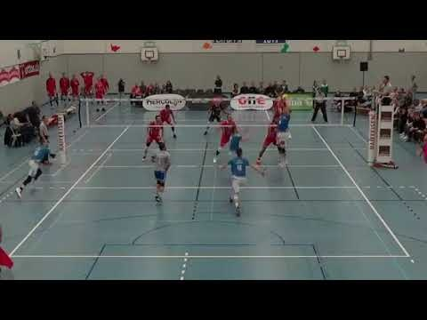 Kevin Saar in match Top Volley Luzern - Chenois Geneve VB