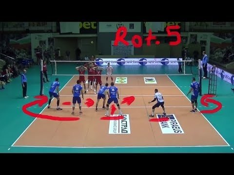 Volleyball Explained: Setter in Rotation 5