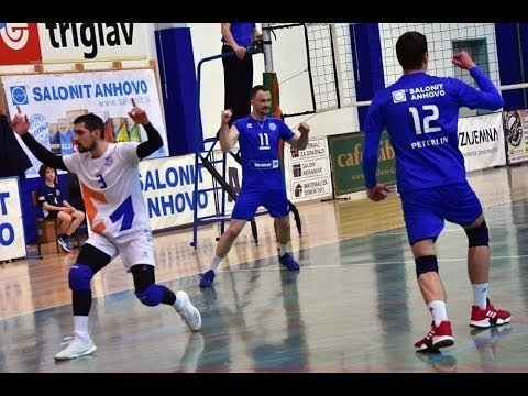 Danijel Saric in match Salonit Anhovo - ACH Volley Ljubljana