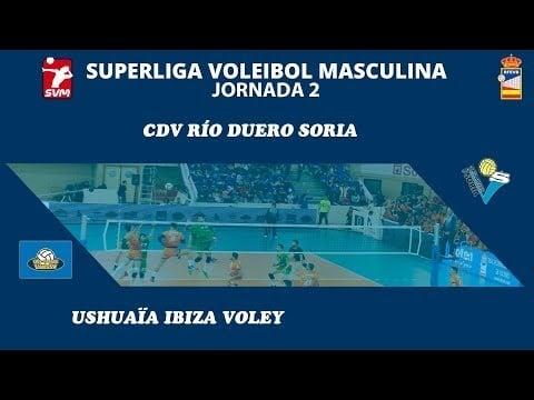Río Duero Soria - Ushuaïa Ibiza Voley (full match)