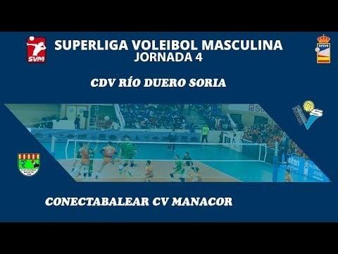 Río Duero Soria - Conectabalear CV Manacor (full match)