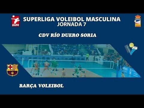 Río Duero Soria - Barça Voleibol (full match)