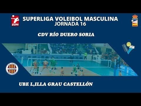 Río Duero Soria vs UBE L'illa Grau (full match)