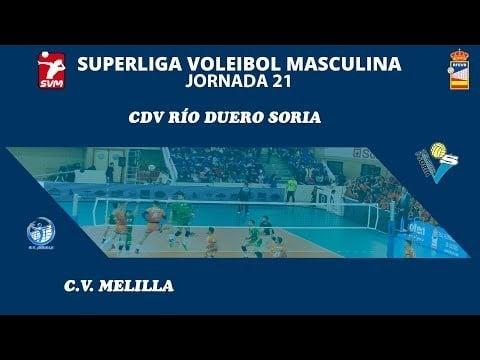 Río Duero Soria - C.V. Melilla (full match)