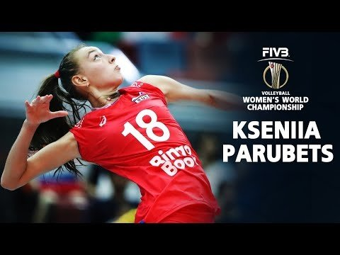 BEST Volleyball Spikes Kseniia Parubets Ксения Па…