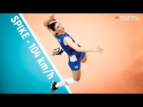 Tijana Boskovic - Most Powerful Spikes | SPEED - 104 km/h…