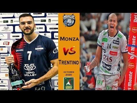 Vero Volley Monza - Itas Trentino (highlights)