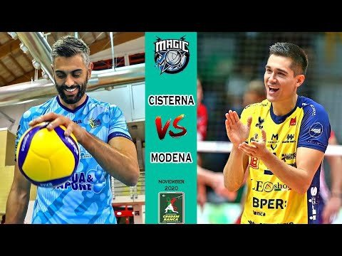 Top Volley Cisterna - Leo Shoes Modena (highlights)