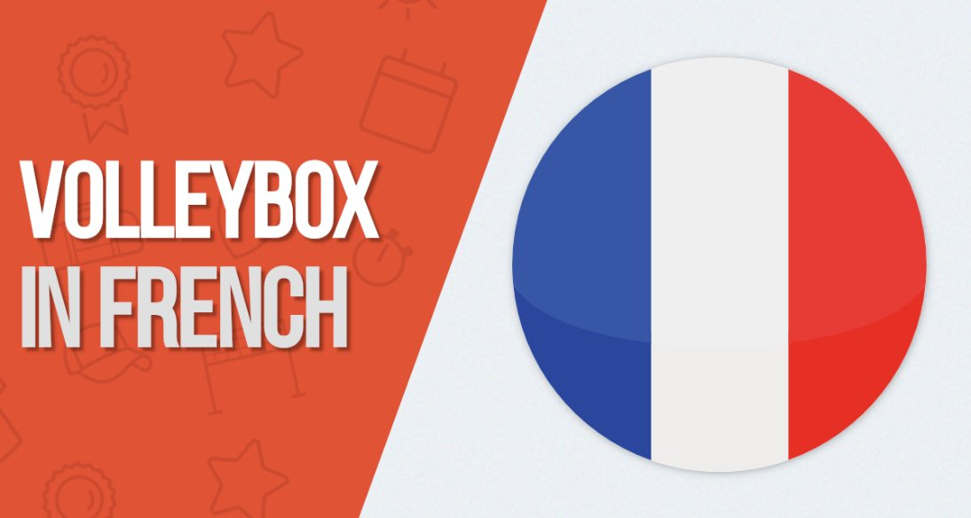 French Volleybox is live now!