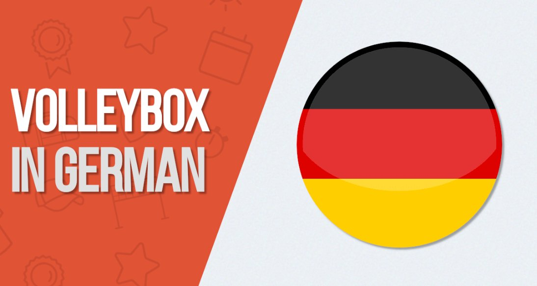 German Volleybox is live now!