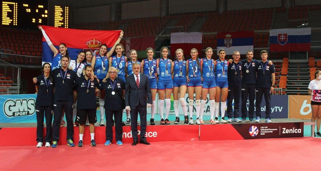 Fifth silver for Serbs - Vanja Savić best proofreader, best blocker Hena Kurtagić