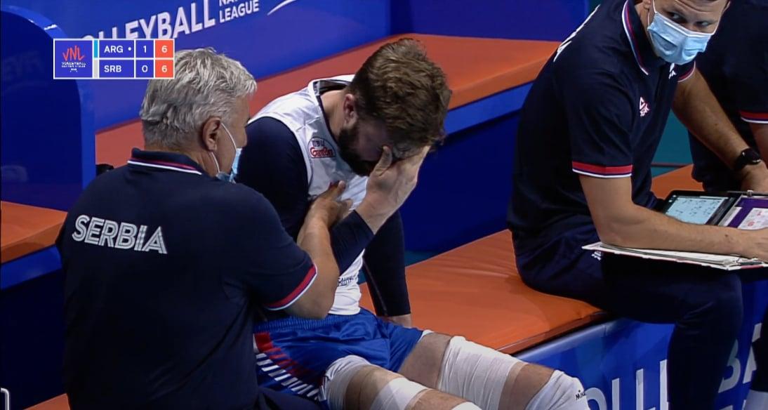Kovačević injured
