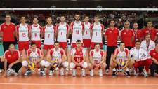Polish National Team lineup for the World League 2011