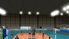 Volley-ball video game