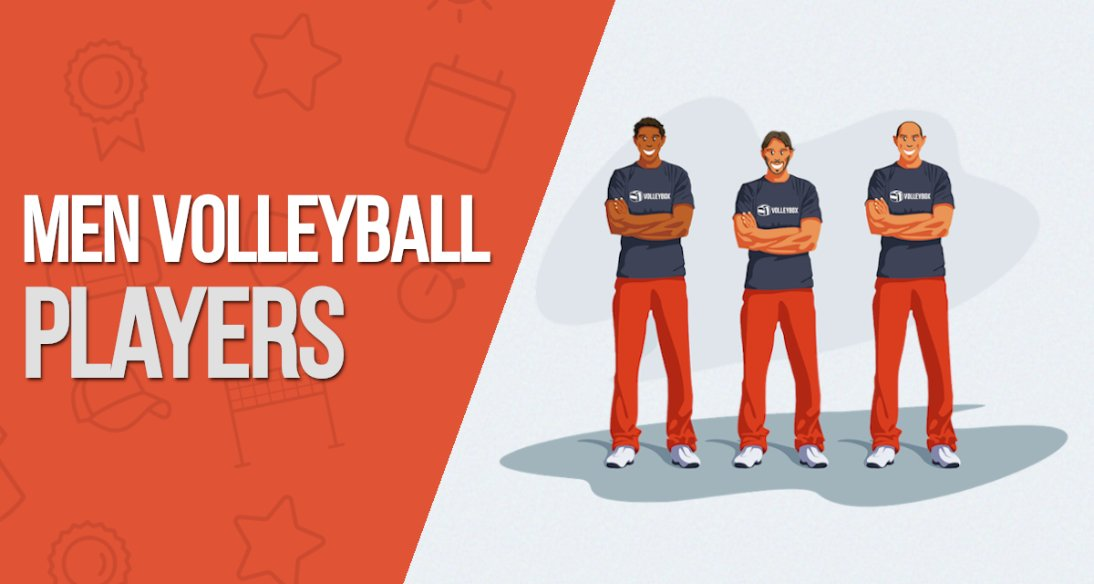 We are the largest volleyball players database now!