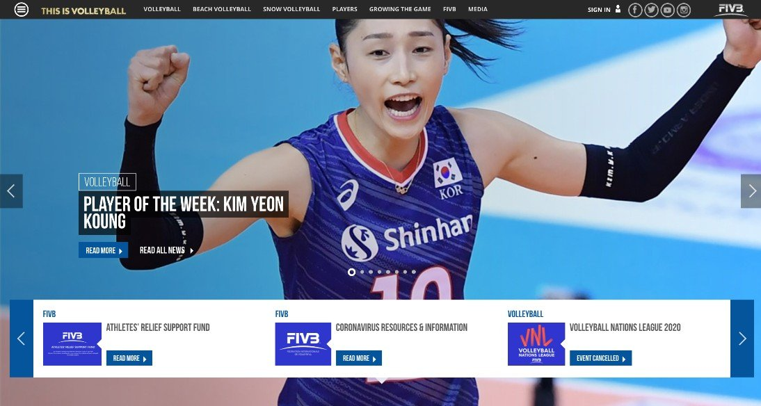 FIVB Player of the Week: Kim Yeon Koung