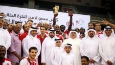 AL ARABI SPIKERS WIN EMIR'S CUP AGAIN; ZAYTSEV ADJUDGED MAN OF THE FINAL