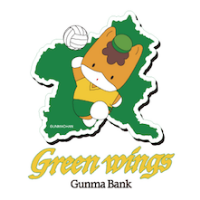 Women Gunma Bank Green Wings